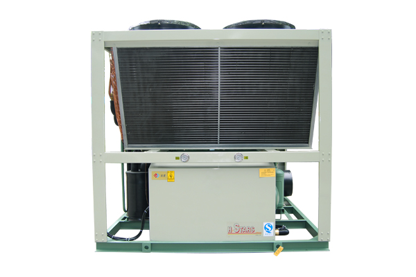 Air Cooled Low Temperature Ice Skating Rink Chiller Unit