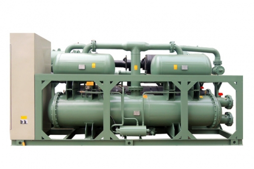 semprot jenis sekrup air cooled chiller
